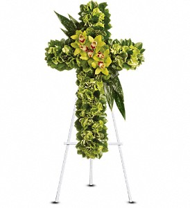 gren cross flowers